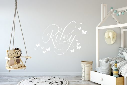 boys girls name Wall Sticker