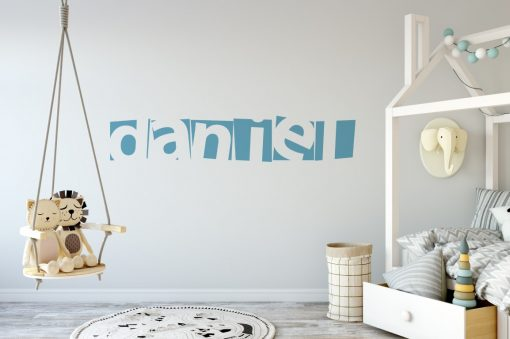 boys name 1 Wall Sticker