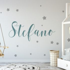 boys name 4 Wall Sticker