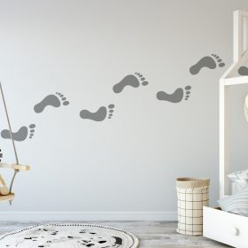 footprints 3 Wall Sticker
