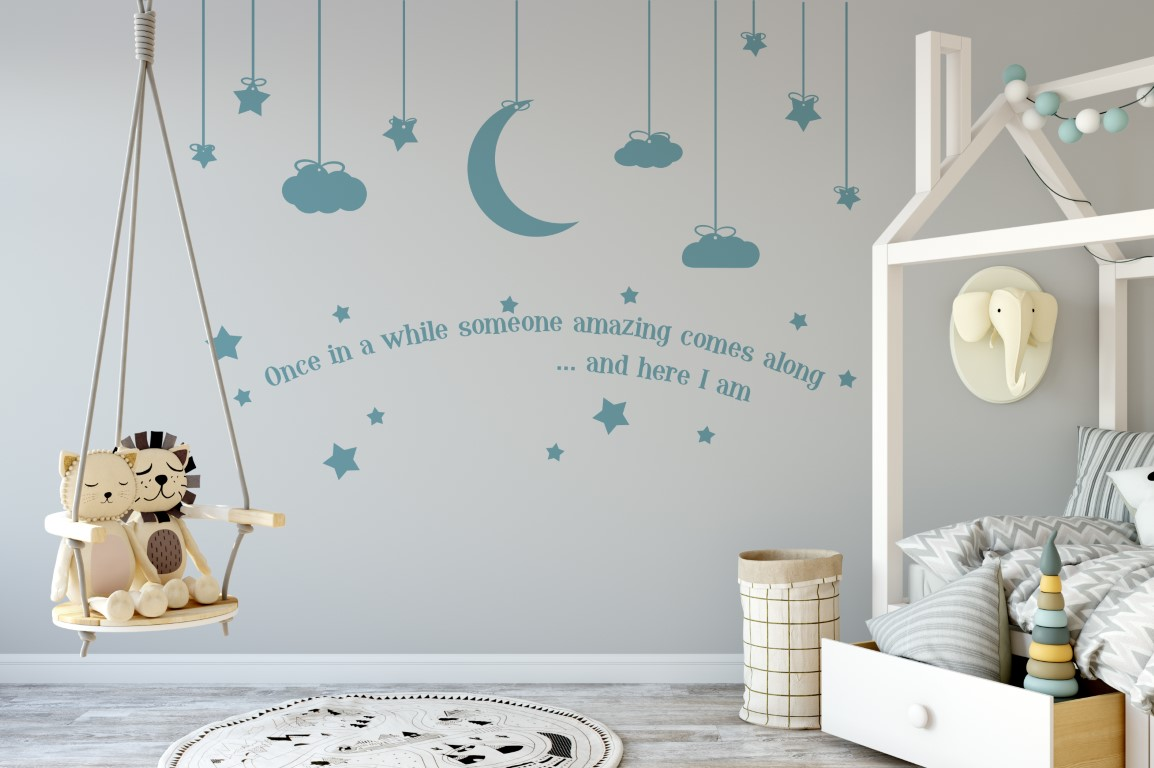 Nursery Sticker Nursery Wall Decor Childrens Sticker