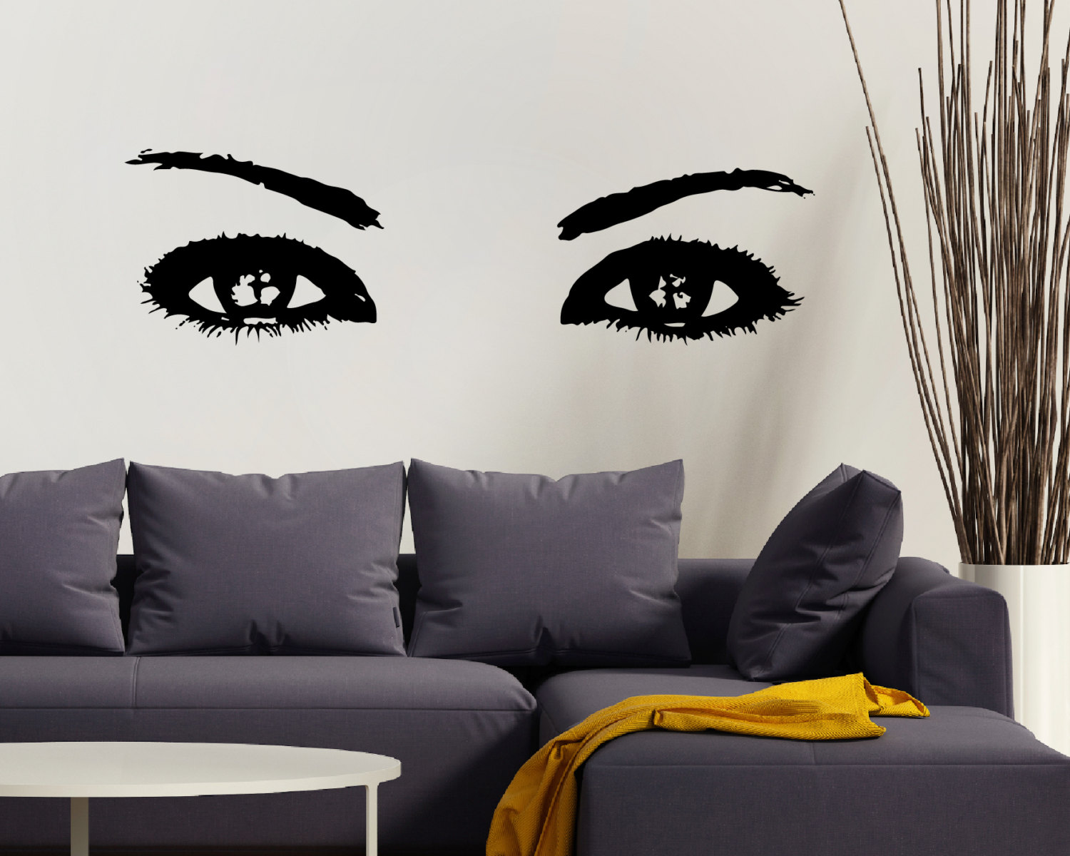 Wall Art Stickers Eyes : Eyes wall art eye stickers sticker
