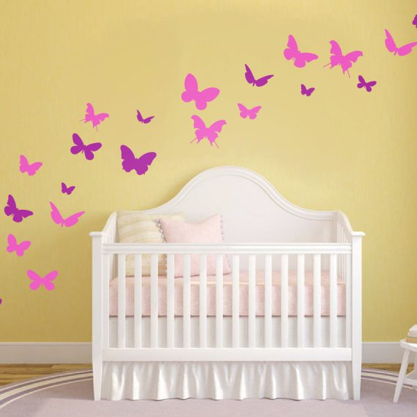 Butterfly Wall Stickers For Nursery - Home Design