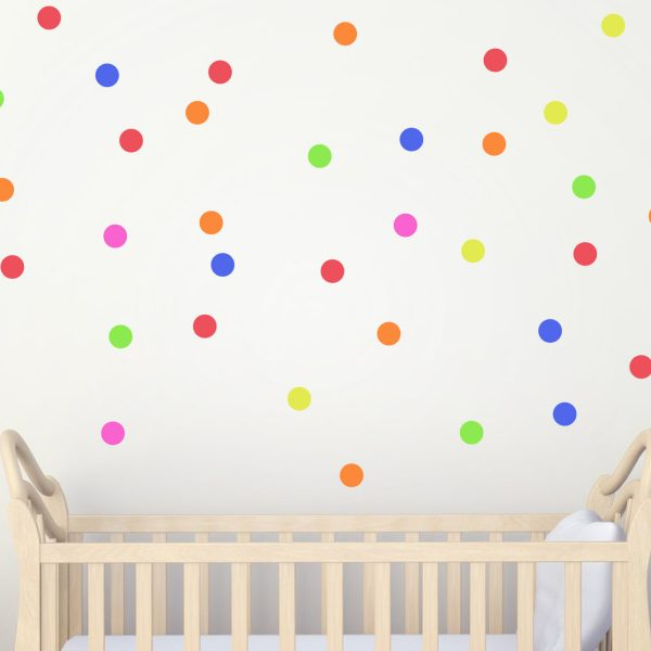 Polka Dot Stickers   Polka Dots   Confetti Nursery Decor Polka Dot Wall  Stickers Nursery Decor | Urban Artwork Part 56