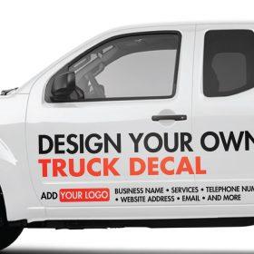 Custom Truck Stickers - Custom Stickers for Trucks - Custom Truck Sticker -  Custom Vehicle Sticker - Custom Truck Window Stickers