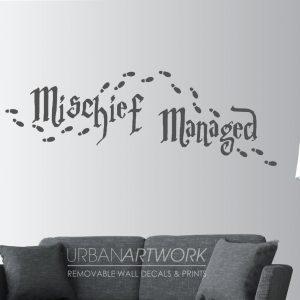 Mischief managed wall sticker mischief managed marauders map mischief managed wall sticker mischief managed marauders map hogwarts urban artwork gumiabroncs Image collections
