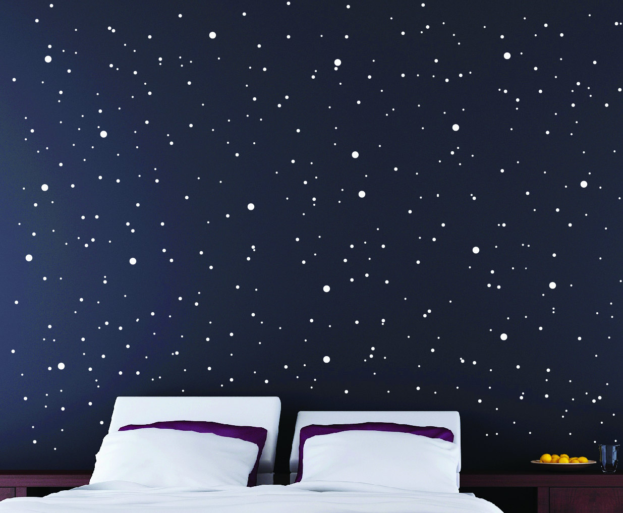 Starry Sky Wall Pack Star Stickers Star Wall Sticker
