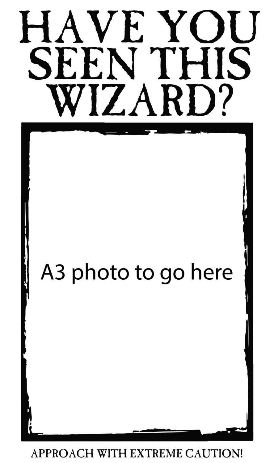 graphic regarding Have You Seen This Wizard Printable named Comprise On your own Noticed This Wizard Preferred Poster Sticker, Wizard Sought after Sticker