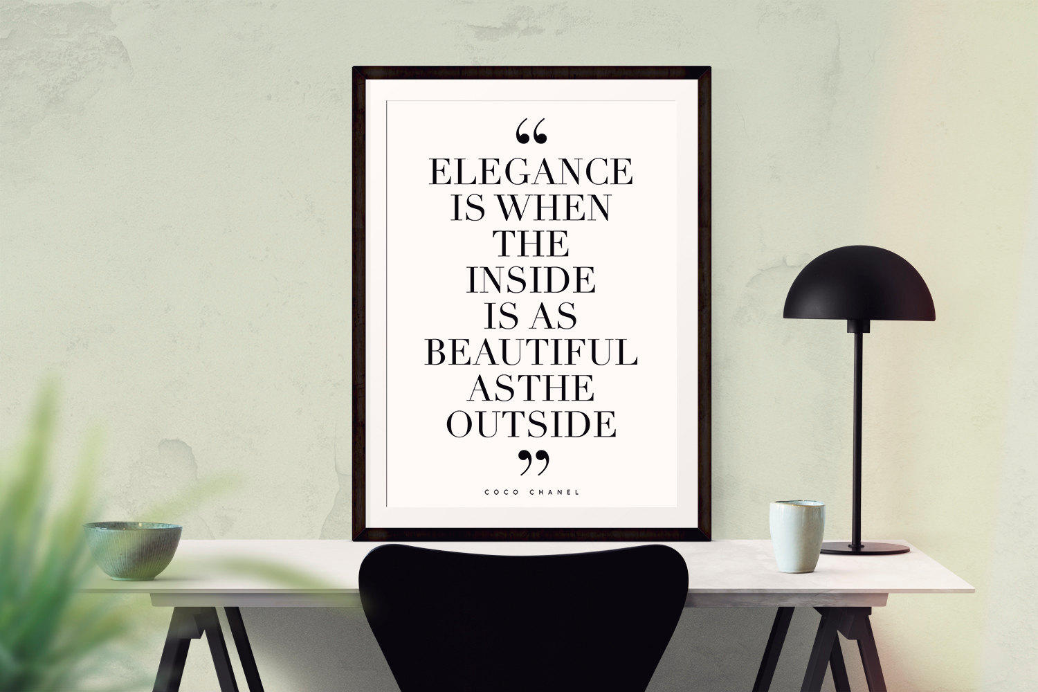 Elegance is when the inside is as beautiful as the outside quote ...
