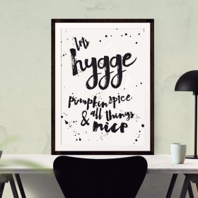 Hygge Print Hygge Wall Print, Hygge Gifts, Wall Prints, Gift for New Home,  Danish Christmas, Hygge Print, Present for couple, Hygge Art