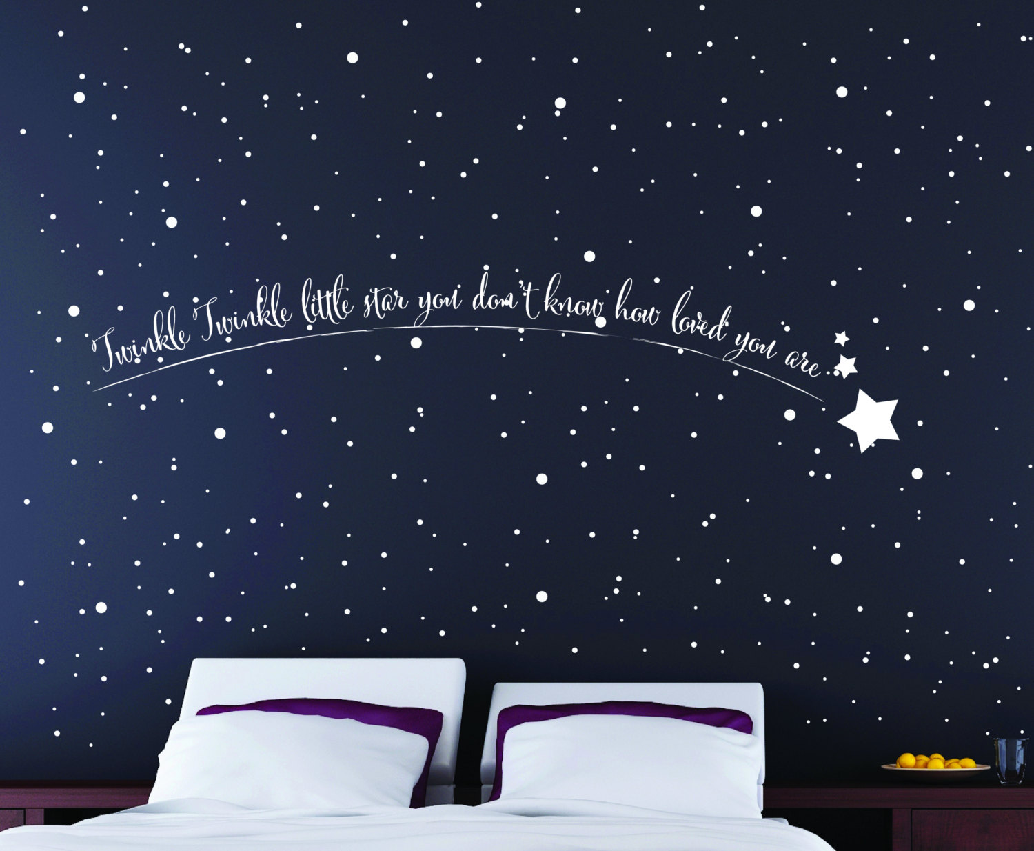 Shooting Star Wall Art Star Wall Stickers Star Wall Art