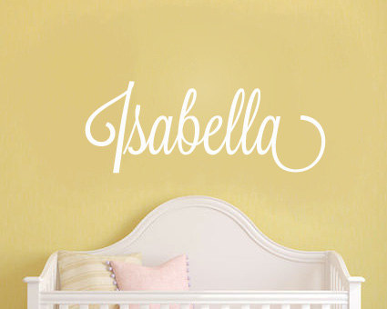 Baby Girl Nursery Wall Sticker  Personalised Name Wall Sticker   Girls Name  Wall Sticker   Childrens Wall Sticker   Kids Wall Sticker   Kids Room |  Urban ... Part 97