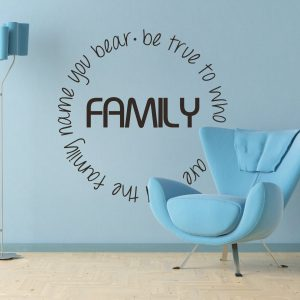 Family Quote Wall Sticker Wall Art Wall Sticker Wall Art