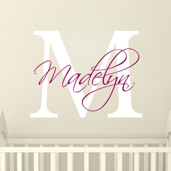 Attractive Wall Stickers Nursery  Wall Stickers For Girls  Personalised Girls Name  Sticker   Nursery Wall Art   Nursery Decor | Urban Artwork Part 27