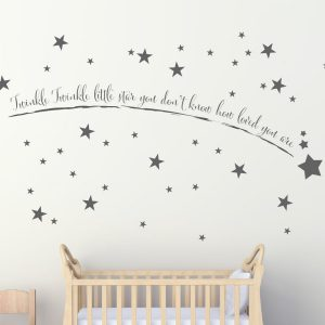 ... Shooting Star Wall Art   Wall Art Stickers   Wall Art   Wall Stickers    Iu0027ll Show You The Stars And How To Reach For Them   Pack Of 50 Stars ...