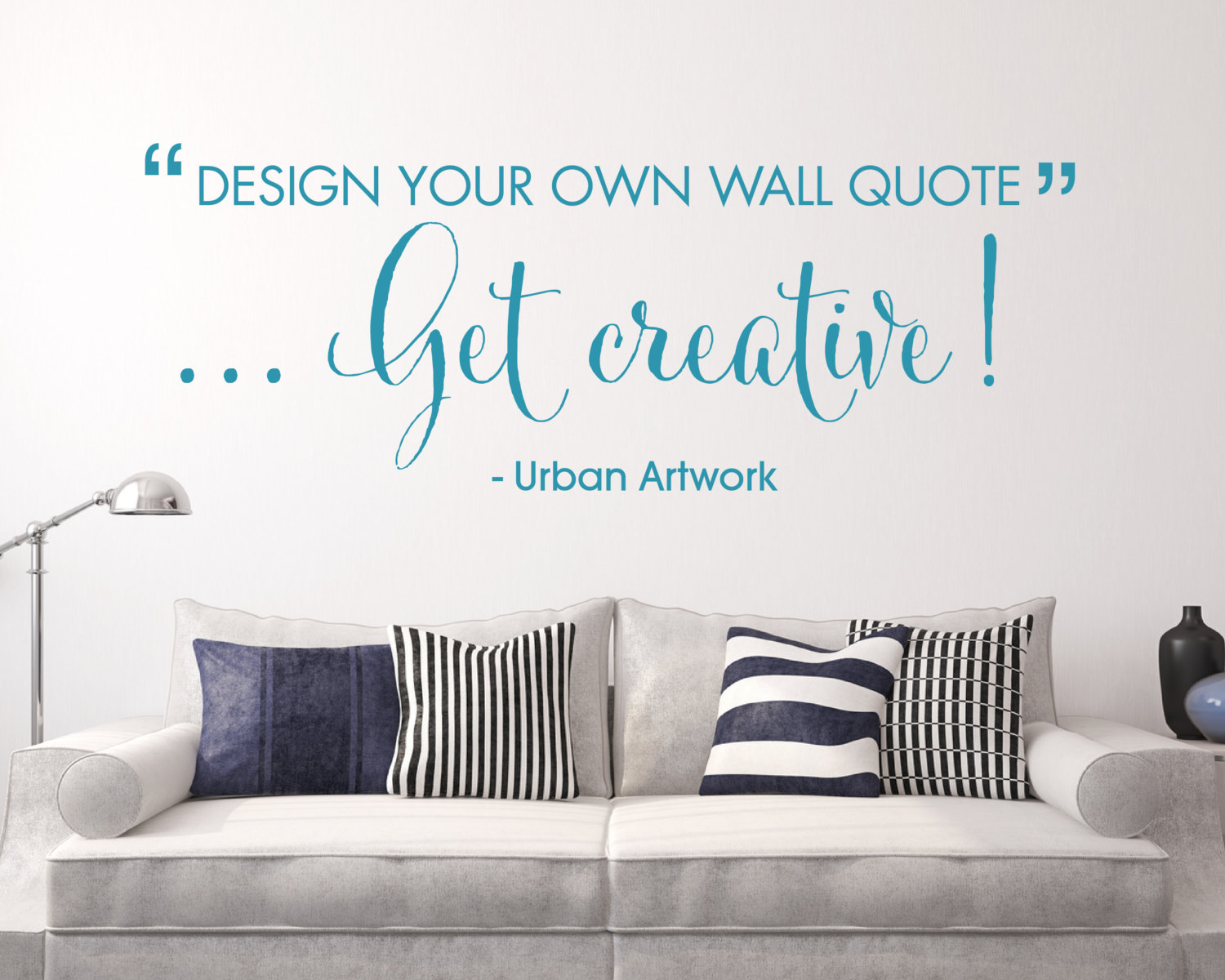 Design Your Own Wall Quote Custom Made Personalised Wall Vinyl