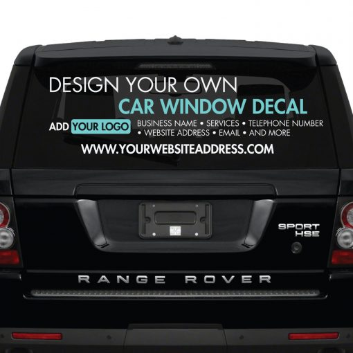 Design Your Own Car >> Car Window Sticker Design Your Own Custom Made Personalised Car Window Sticker Create Your Own Car Window Stickers