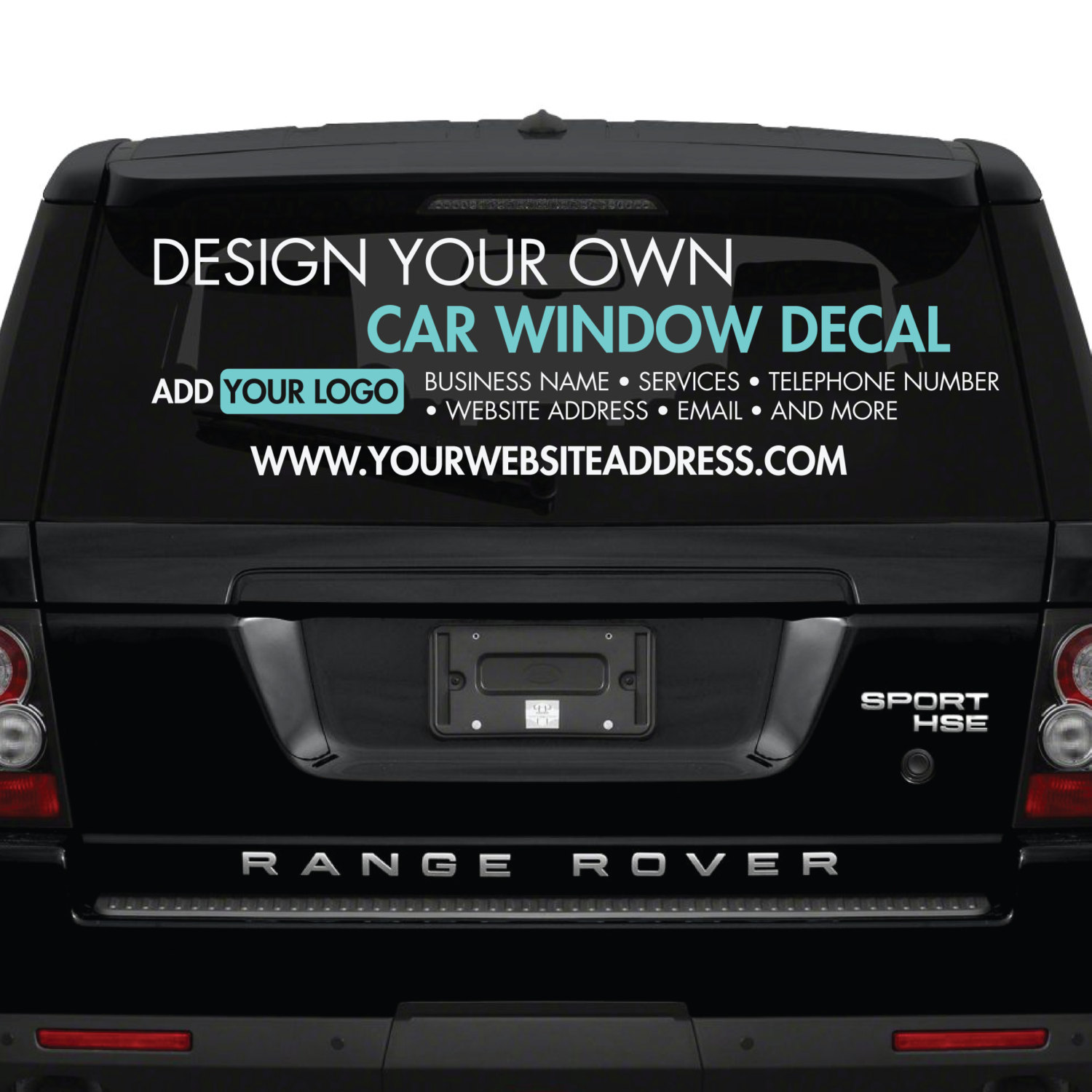 Design Your Own Car >> Car Window Stickers Design Your Own Custom Made Personalised Car Window Stickers Create Your Own Car Window Stickers