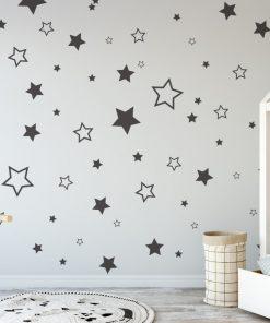 stars various 1 Wall Sticker