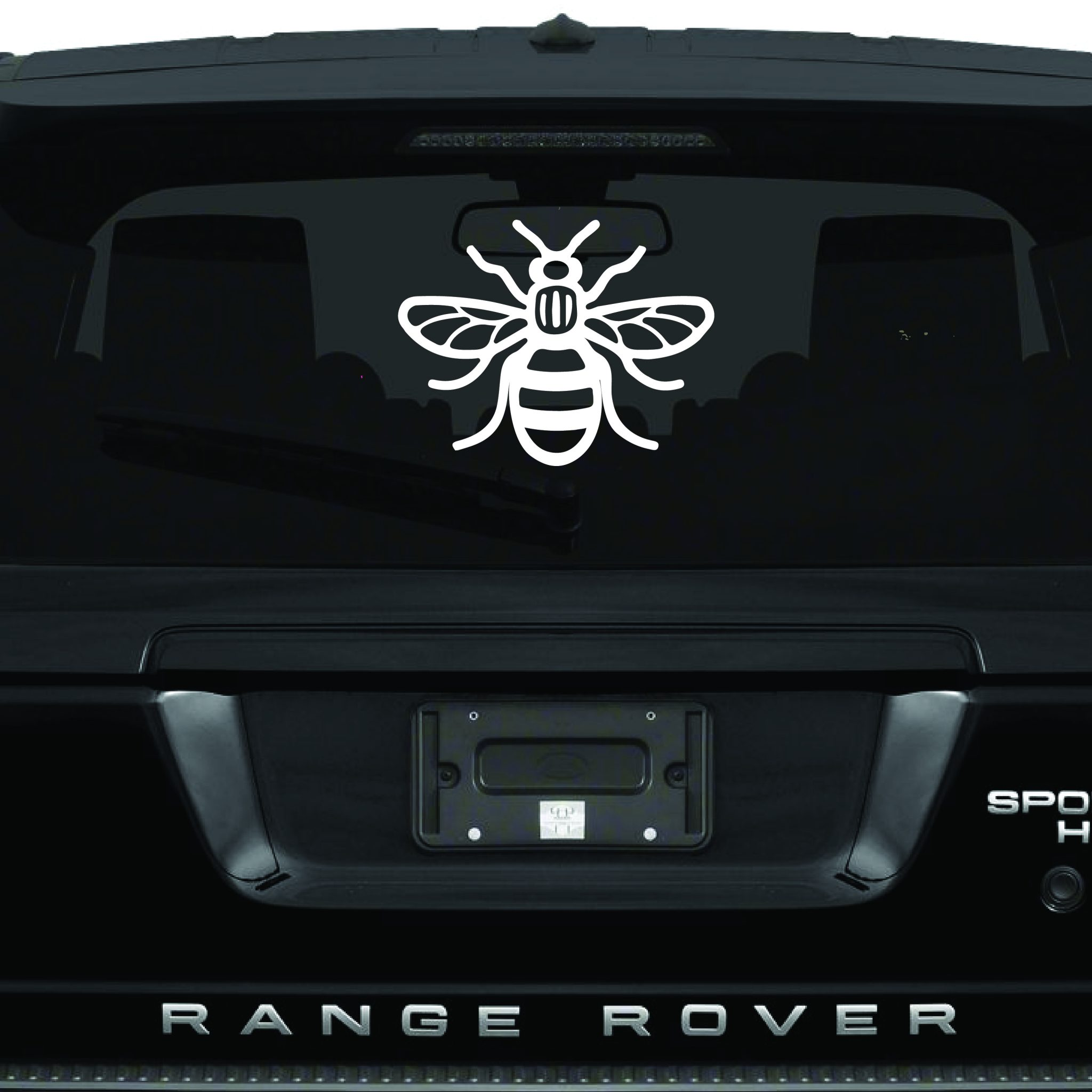 Manchester bee phone sticker