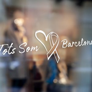 Tots Som Barcelona Window Sticker We Are All Barcelona Window Sticker 1a