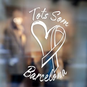 Tots Som Barcelona Window Sticker We Are All Barcelona Window Sticker 1c