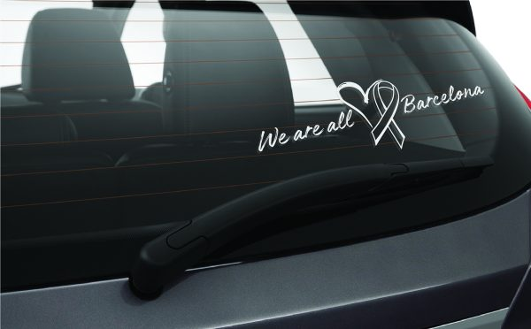 We Are All Barcelona Car Sticker Window Tots Som Barcelona Car Window Sticker-01