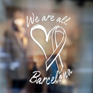 We Are All Barcelona Window Sticker tots Som Barcelona Window Sticker 2