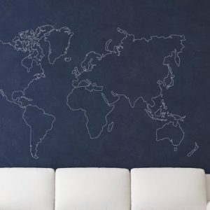 World map outline wall stickers map wall stickers map wall art world map outline wall stickers map wall stickers map wall art urban artwork gumiabroncs Choice Image
