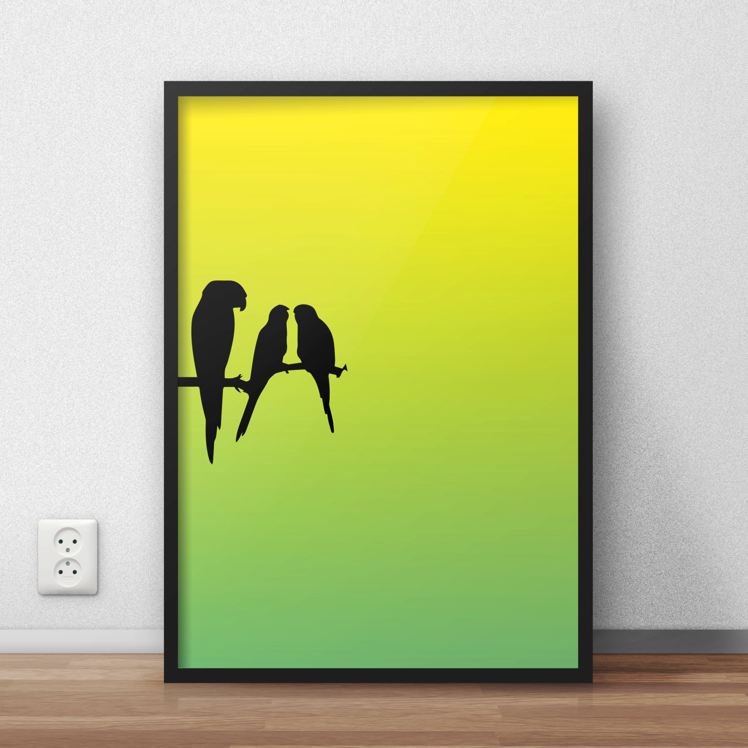 Charming Parrot Wall Art Pictures Inspiration - The Wall Art ...