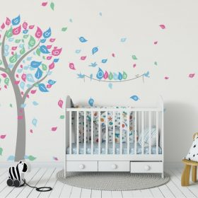 Alphabet Tree 1b Wall Sticker