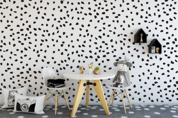 Dalmation Dots 1f Wall Sticker