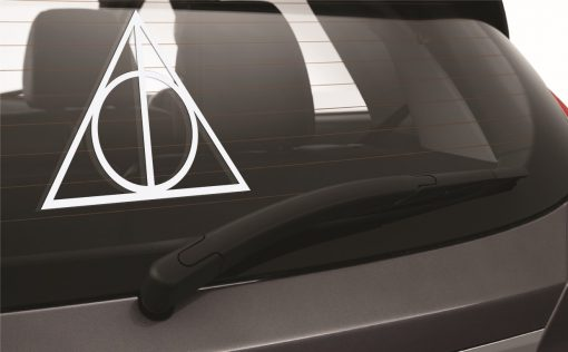 Deathly Hallows Car Sticker 1d-01 Wall Sticker