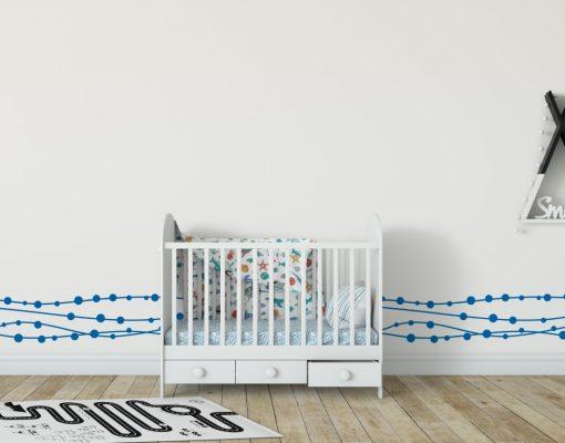 Decorative Bunting 1b2 Wall Sticker