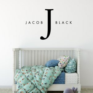 Designer Baby Name Wall Sticker