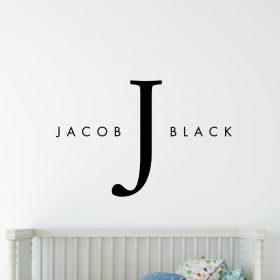 Designer Baby Name 1e2 Wall Sticker