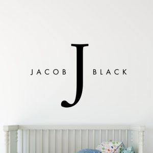Designer Baby Name 1e2 Wall Sticker