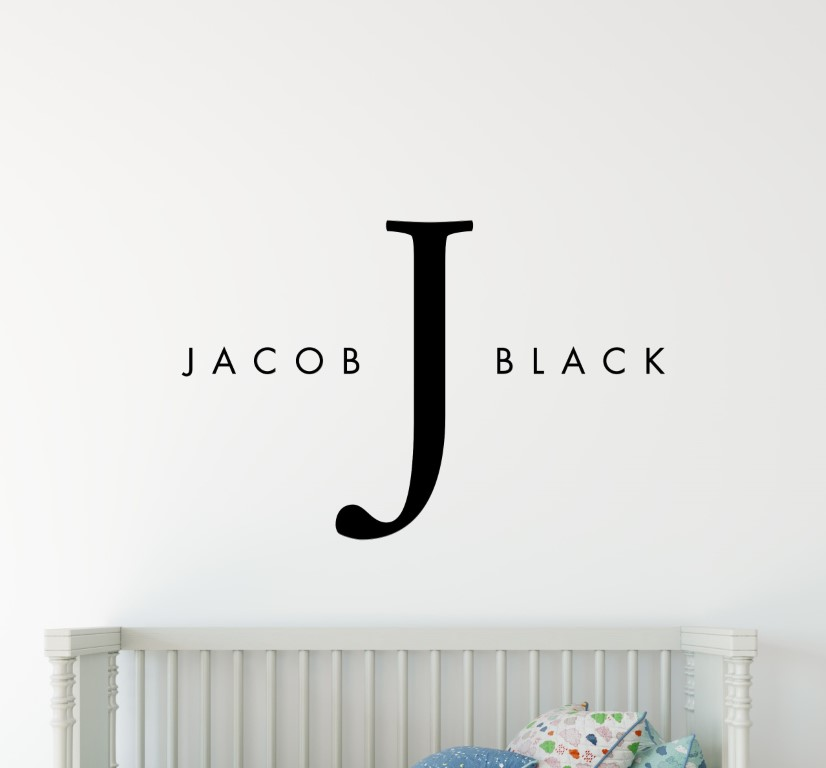 boys name wall stickers boys name stickers girls name wall stickers