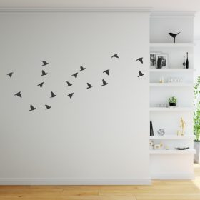 Flock of birds wall sticker