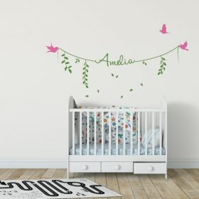 Girls Name on String 2a Wall Sticker