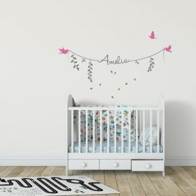 Girls Name on String 2b Wall Sticker