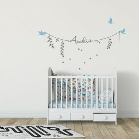 Girls Name on String 2c Wall Sticker