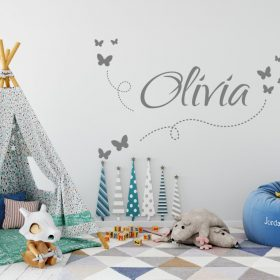 Girls Name on String 7e Wall Sticker