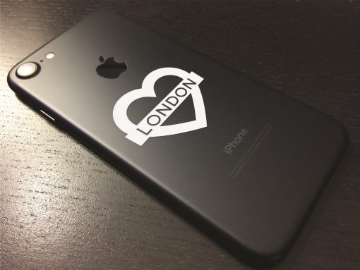 London Heart Phone Sticker-01 Wall Sticker