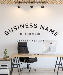 Personalised Signs no10 - Wall Stickers Business Signs 1