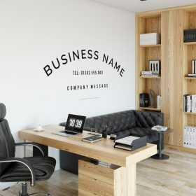 Personalised Signs no10 - Wall Stickers Business Signs 2