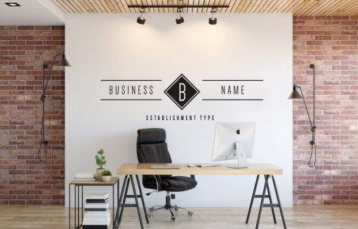 Personalised Signs no11 - Wall Stickers Business Signs 1