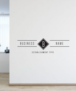 Personalised Signs no11 - Wall Stickers Business Signs 2