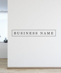 Personalised Signs no12 - Wall Stickers Business Signs 2
