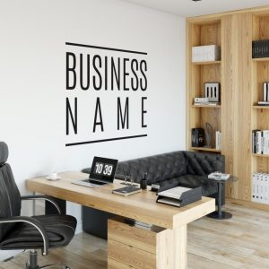 Personalised Signs no13 - Wall Stickers Business Signs 2